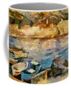 Sea Front On Mediterranean Sea Coffee Mug