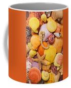 Sea Horse Starfish And Seashells  Coffee Mug