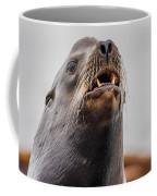 Sea Lion And Yellow Fangs Coffee Mug