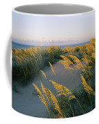 Sea Oats, Dunes, And Beach At Oregon Coffee Mug