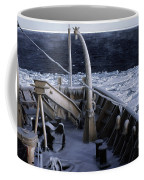 Sea Smoke, Sea Ice, And Icicles Coffee Mug