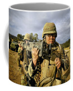 Seabees Carrying A 50-caliber Machine Coffee Mug