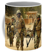 Seabees Conduct A Mass Casualty Drill Coffee Mug