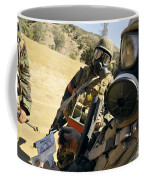Seabees Conduct Decontamination Wash Coffee Mug