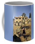 Seabees Defend Their Camp Coffee Mug