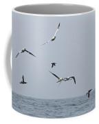 Seabirds In Flight Coffee Mug by Louise Heusinkveld