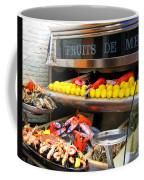 Seafood Market In Nice Coffee Mug