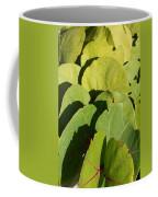 Seagrape Leaf Layer Coffee Mug