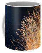 Seagrass In Gold Coffee Mug
