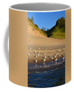 Seagulls At The Bowl Coffee Mug