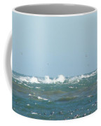 Seagulls Surf And Sandbar Coffee Mug