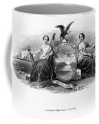 Seal Of New York, 1870 Coffee Mug