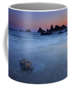 Seal Rock Dusk Coffee Mug by Mike  Dawson
