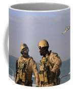 Seals Aboard A Rigid-hull Inflatable Coffee Mug by Stocktrek Images