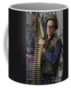 Seaman Prepares To Load Ammunition Coffee Mug