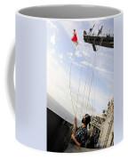 Seaman Raises The Foxtrot Flag Coffee Mug