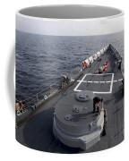 Seamen On The Forecastle Coffee Mug
