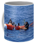 Search And Rescue Swimmers Retrieve Coffee Mug