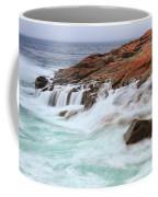 Seas On Schoodic Point Coffee Mug