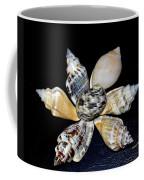 Seashell Floral Coffee Mug