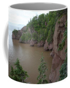 Seastacks At Hopewell Rocks Coffee Mug