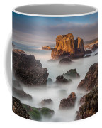 Seastacks In The Mists Coffee Mug