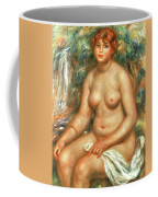 Seated Bather Coffee Mug