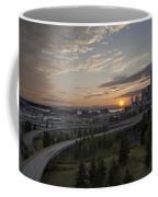 Seattle Arrival Sunset Coffee Mug