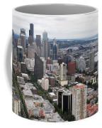 Seattle From The Needle Coffee Mug