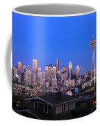 Seattle Skyline 3 Coffee Mug