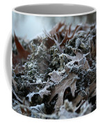 Seaweed And Oak Leaves Coffee Mug