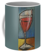 Second Glass Of Red Coffee Mug by Tim Nyberg
