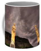 Secret Grounds Coffee Mug by Jakub Sisak