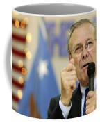 Secretary Of Defense Donald H. Rumsfeld Coffee Mug