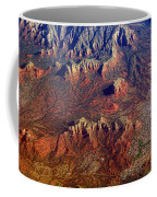 Sedona Arizona Planet Earth Coffee Mug