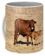 Senopol Surrogate With Calf Coffee Mug by Science Source