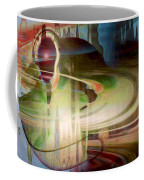 Sensing The Spheres Coffee Mug by Linda Sannuti