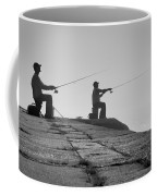 Sentinels - Fishing In The Fog Coffee Mug