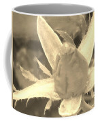 Sepia Rose Bud Coffee Mug
