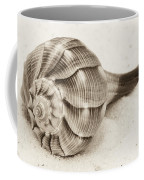 Sepia Shell Coffee Mug