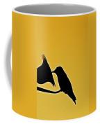 Sepia Silhouette Coffee Mug