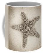 Sepia Starfish Coffee Mug