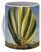 Serengeti Hot Air Baloon Inflating Coffee Mug