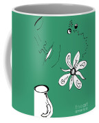 Serenity In Green Coffee Mug
