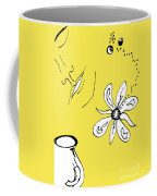 Serenity In Yellow Coffee Mug