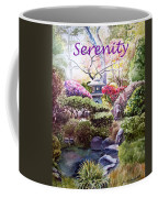Serenity Coffee Mug by Irina Sztukowski
