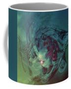 Serpent Head Coffee Mug by Linda Sannuti