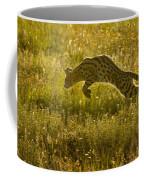 Serval Cat Pouncing Serengeti Coffee Mug