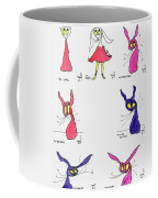 Seven Cartoons Coffee Mug