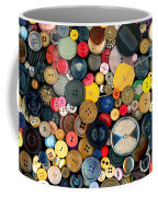 Sewing - Buttons - Bunch Of Buttons Coffee Mug